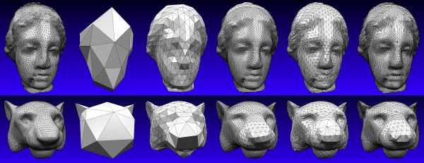 Multiresolution Interpolation Meshes