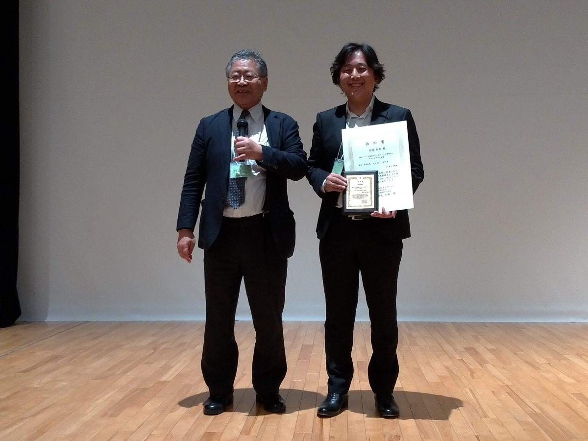 画像電子学会最優秀論文賞&西田賞を受賞しました.